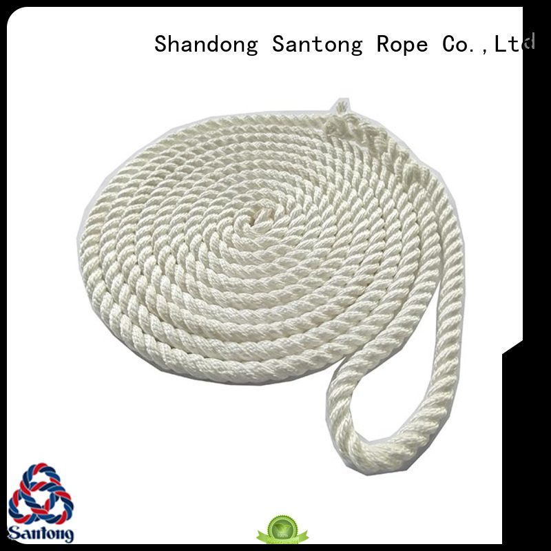 SanTong stretch marine rope supplier for tubing
