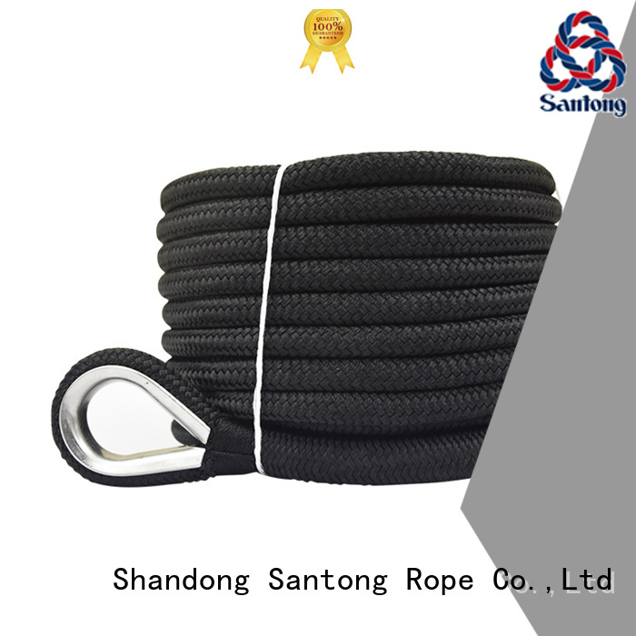 SanTong professional braided rope factory price for saltwater