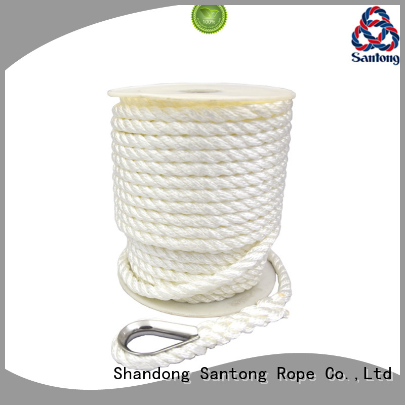 SanTong white boat anchor rope supplier for gas
