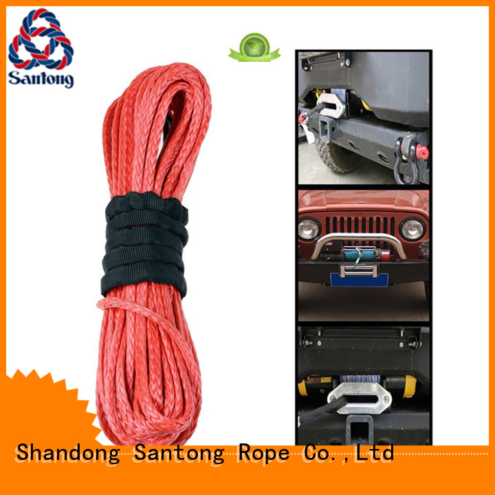 SanTong durable synthetic winch line on sale for truck