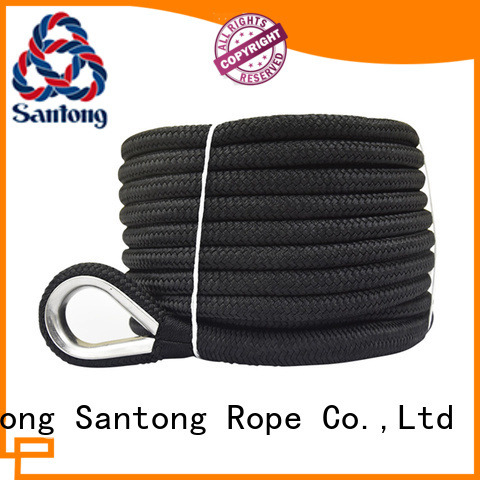 SanTong polypropylene braided rope wholesale for oil