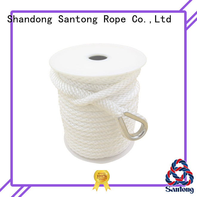 white anchor rope braid double SanTong