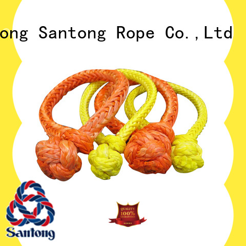 customized shackle rope orange from China for car