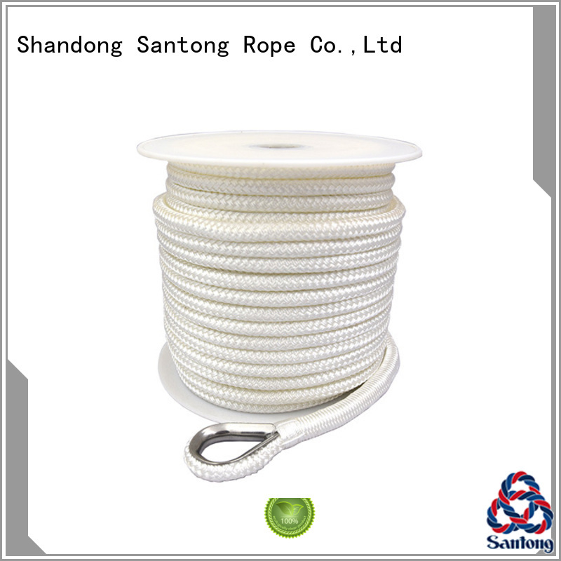black boat anchor line braid for oil SanTong