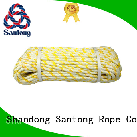 SanTong abrasion resistance climbing rope static manufacturer for caving