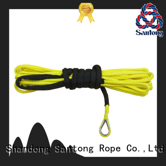 SanTong uhmwpe synthetic winch rope directly sale for car