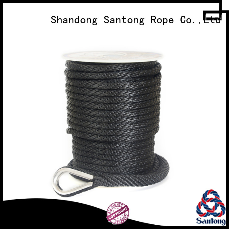 SanTong strand boat anchor rope factory price for saltwater
