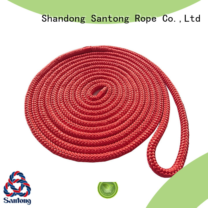 stretch dock lines polyester factory price for skiing