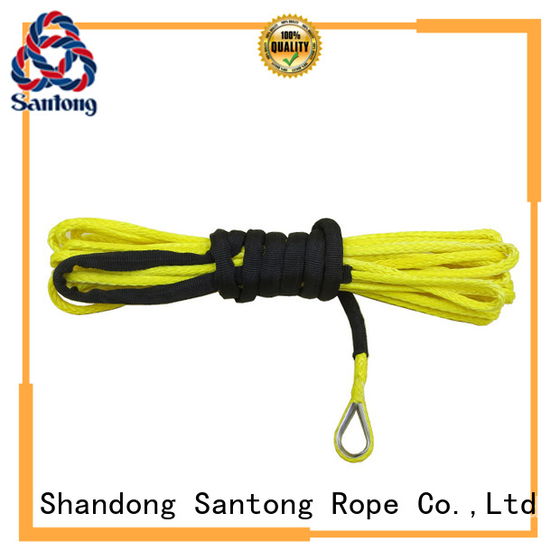 SanTong light synthetic winch rope wholesale for car