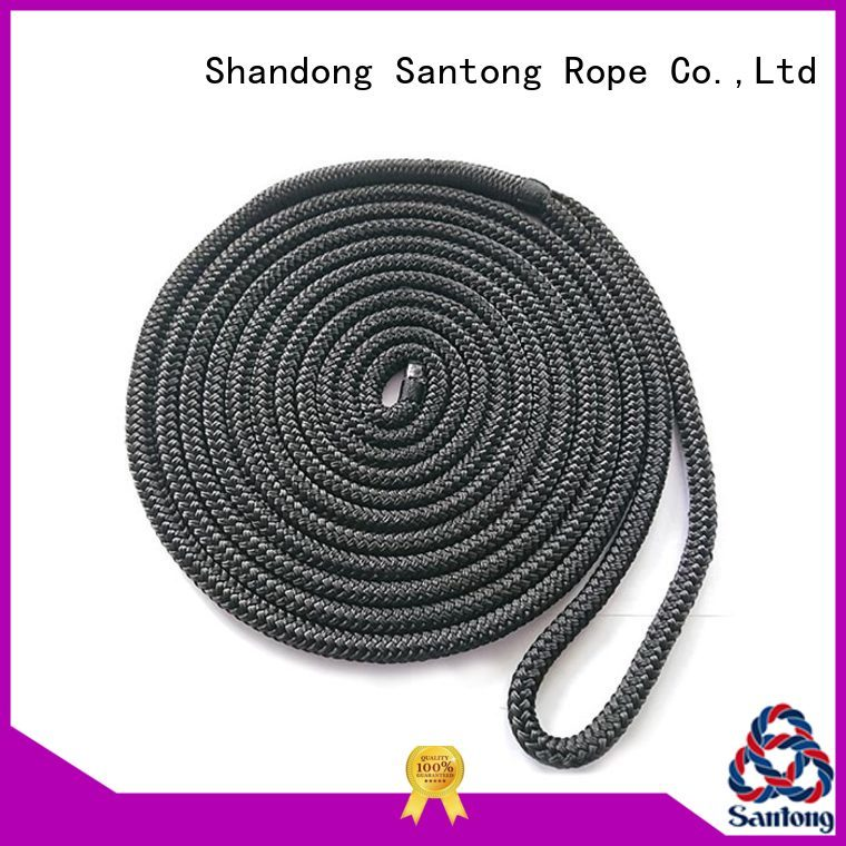 SanTong braided mooring rope supplier for wake boarding