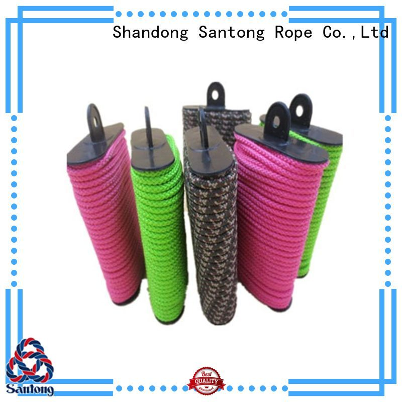 SanTong abrasion resistance clothes rope personalized for garden