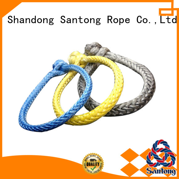 SanTong braided rope shackle from China for vehicle
