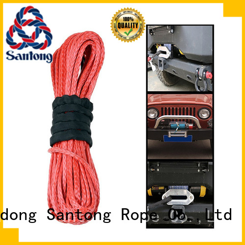 SanTong safety winch rope on sale for truck