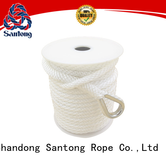 durable boat anchor rope twisted factory price for saltwater