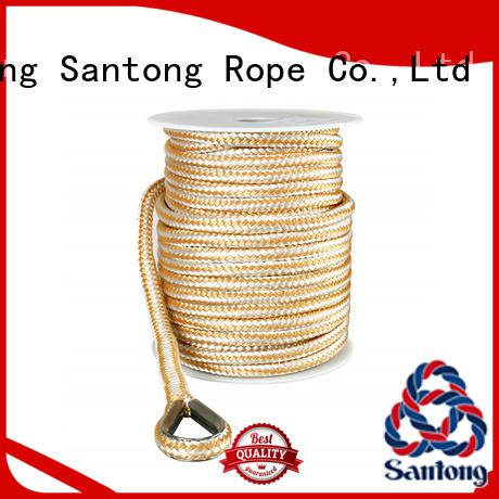 SanTong polypropylene anchor ropes wholesale for saltwater