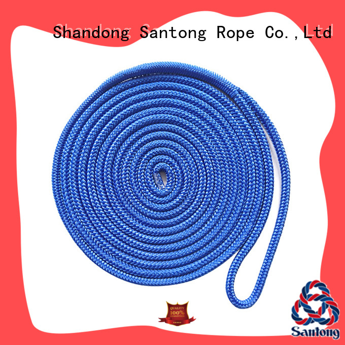 mooring polyester rope factory price for tubing SanTong