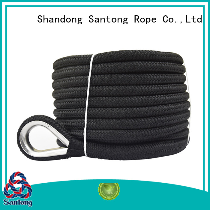 good quality anchor rope for boats black at discount