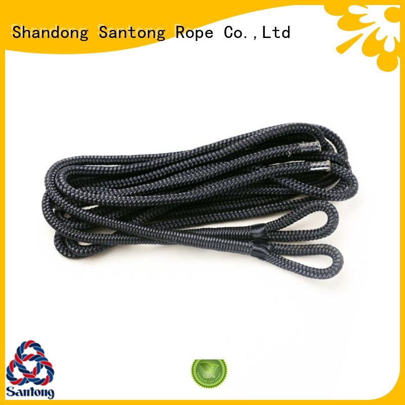 light boat fender ropes braided factory for prevent damage from jetties