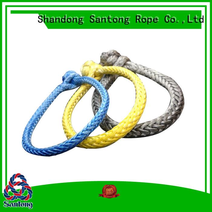 SanTong orange shackle rope manufacturer for car