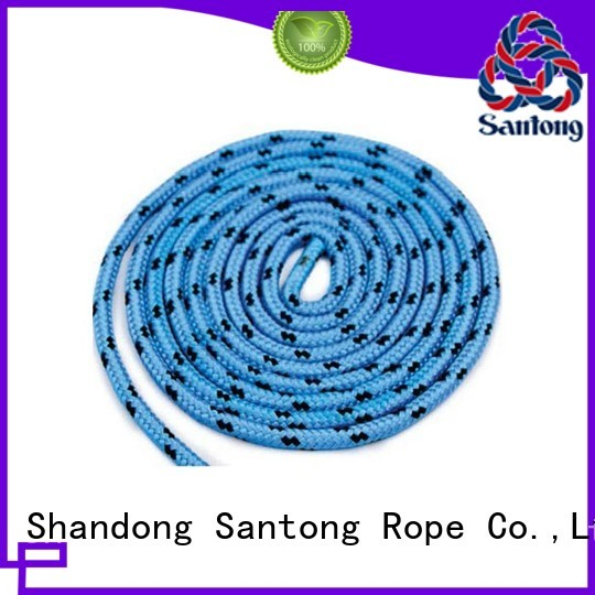 SanTong high strength polyester rope factory for sailing