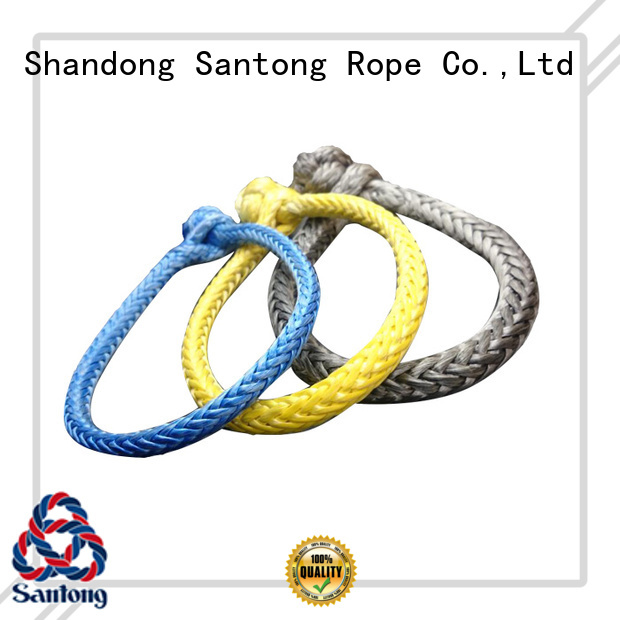 grey rope shackle manufacturer for vehicle SanTong