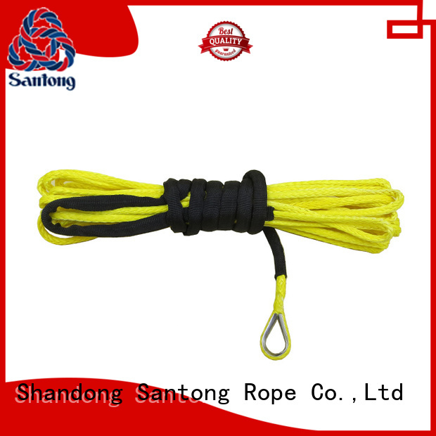 SanTong 12strand synthetic winch rope directly sale for car