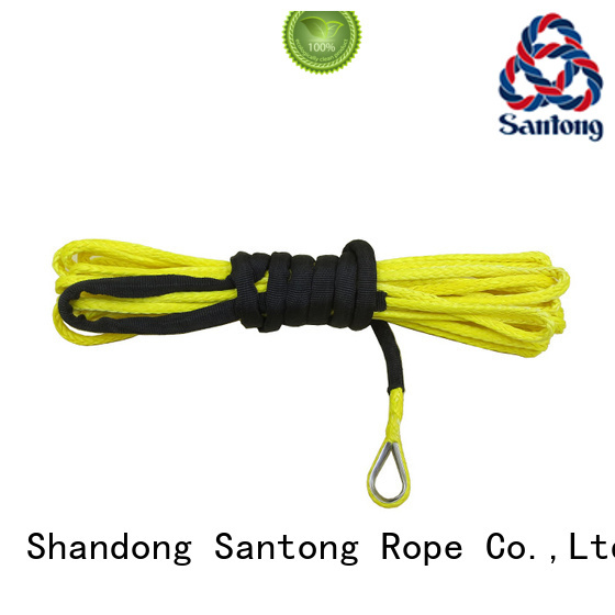 SanTong safety synthetic winch rope on sale for truck