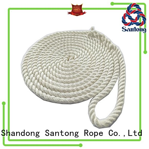 SanTong polyester boat ropes supplier for wake boarding