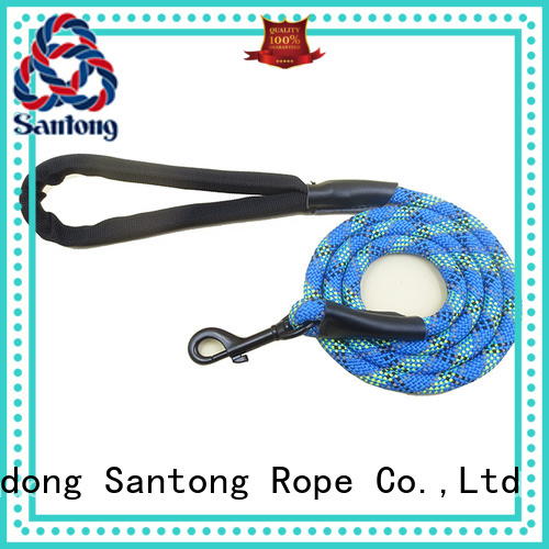 SanTong braided dog leashes promotion for pet
