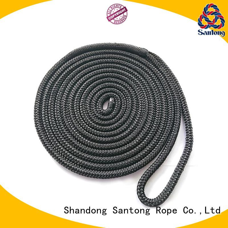 SanTong stronger dock rope factory price for tubing