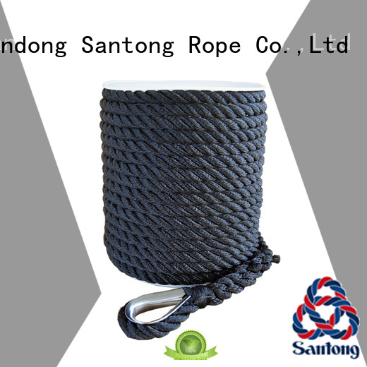 SanTong double twisted rope factory price for saltwater