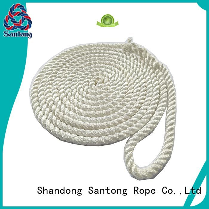 SanTong blue boat ropes wholesale for tubing
