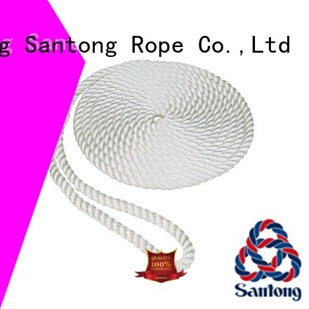 SanTong 3strand nylon rope with good price for pilings