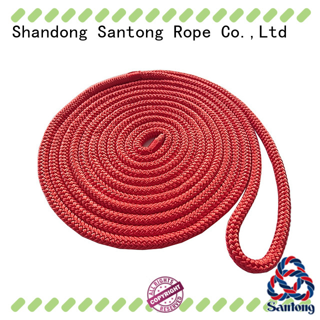twisted braided nylon rope factory price for wake boarding SanTong