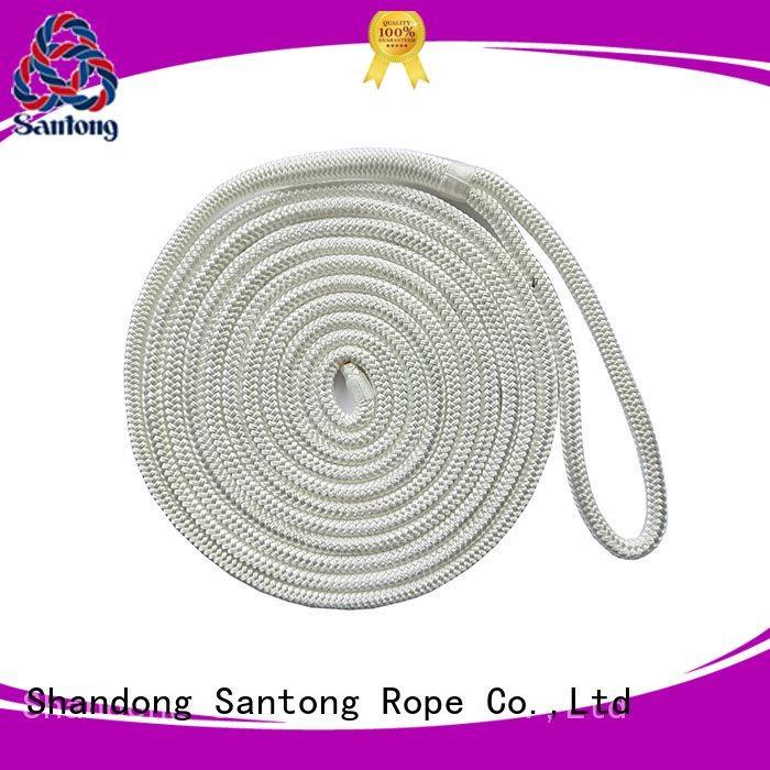 SanTong polyester mooring lines wholesale for skiing