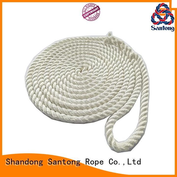 rope mooring lines for sale factory price for skiing SanTong