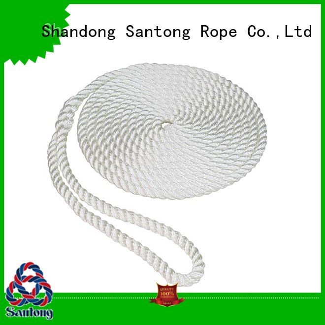 SanTong utility rope for sale design for prevent damage from jetties