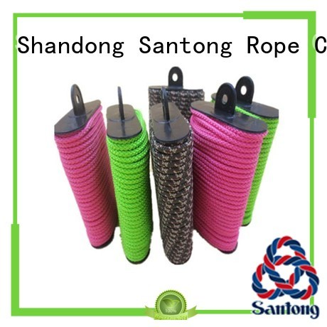 SanTong colorful clothes hanging rope supplier for outdoor