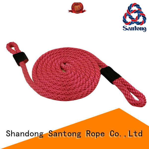 SanTong braided rope factory for prevent damage from jetties