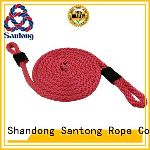 SanTong white boat fender ropes with good price for docks
