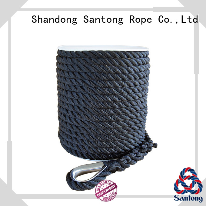 SanTong polypropylene anchor rope wholesale for saltwater