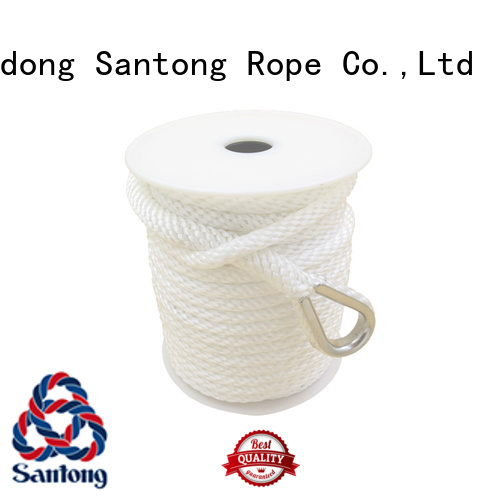 professional anchor ropes black supplier for oil