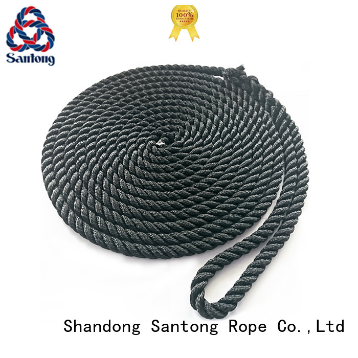 SanTong polyester mooring rope online for wake boarding