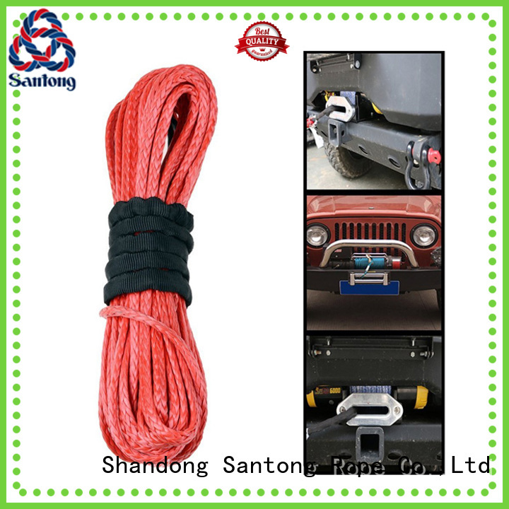 SanTong stronger winch rope manufacturer for truck