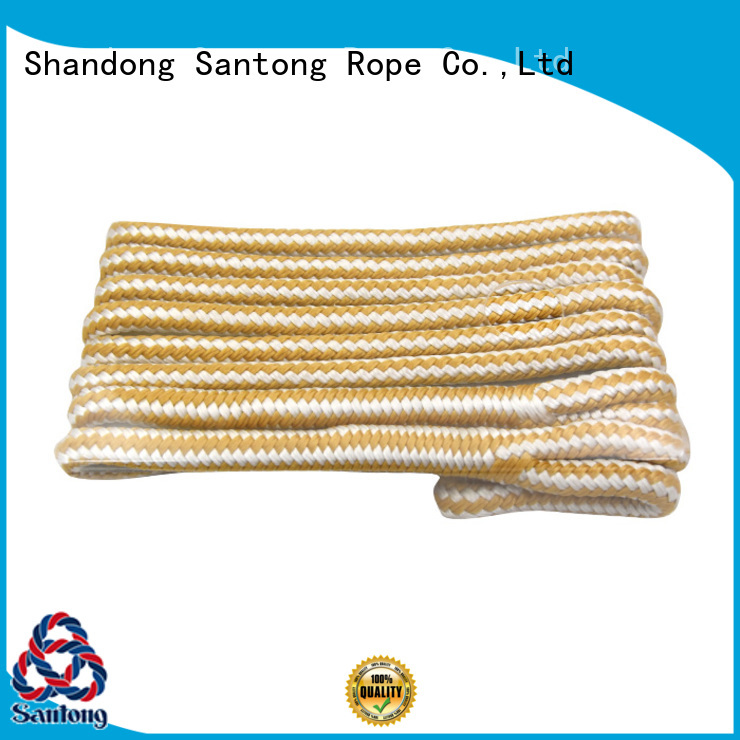 sailboat fender rope white for pilings SanTong