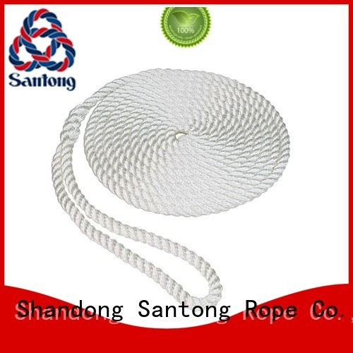 light pp rope sailboat with good price for pilings