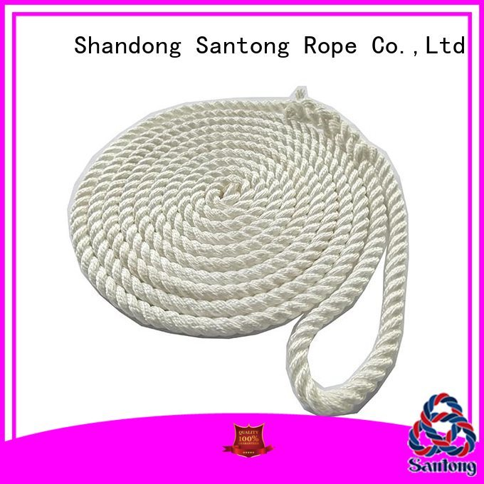SanTong dock polyester rope supplier for tubing