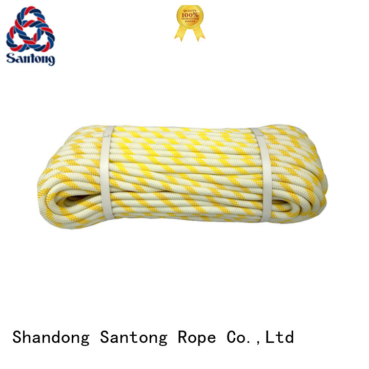 SanTong colorful braided rope manufacturer for abseiling