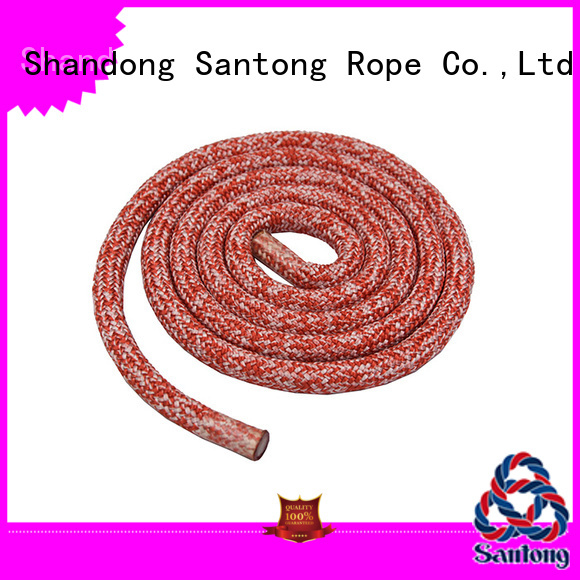 SanTong double polyester rope with good price for sailing