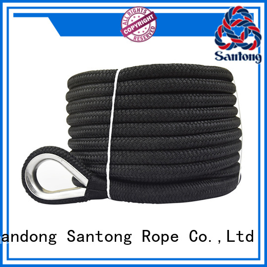 SanTong good quality anchor rope types factory price for saltwater
